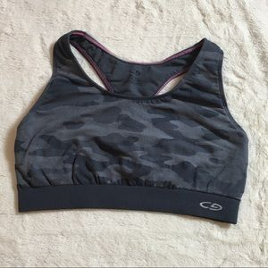 Champion camouflage print sports bra